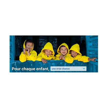 Campagne UNICEF France
